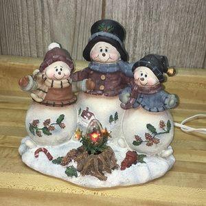 Holiday - Like New Snowmen Christmas Decoration